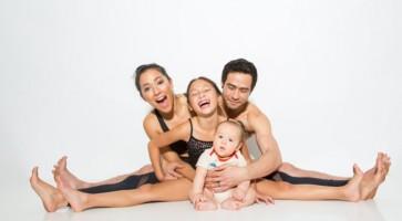 yoga família