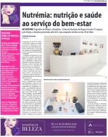 Sugestões de Beleza 2018 - Nutrémia no Jornal Correio do Minho